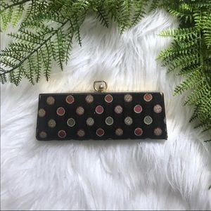 Vintage Polka Dot Eyeglass Case